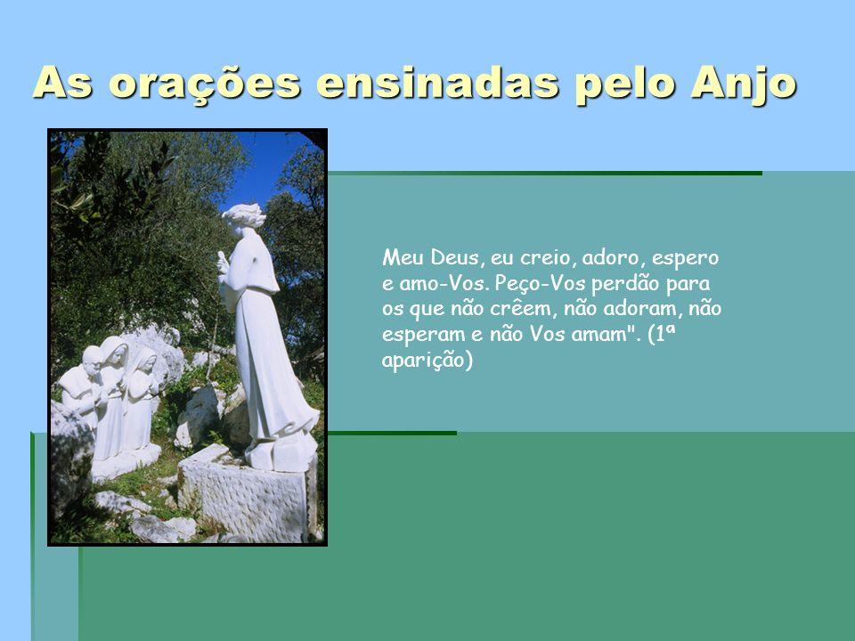 As orações ensinadas pelo Anjo