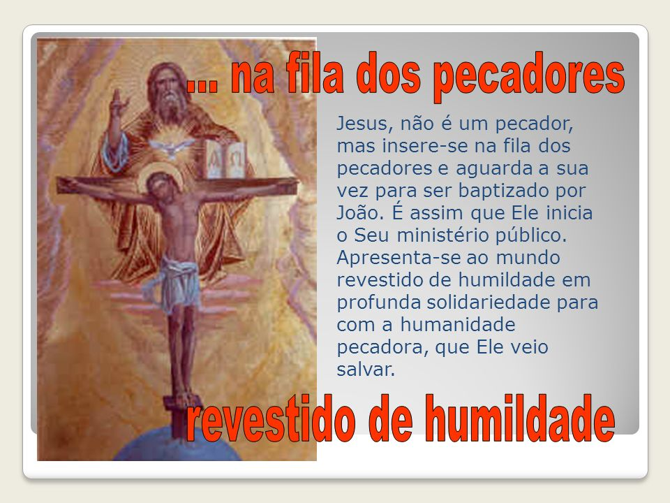 revestido de humildade