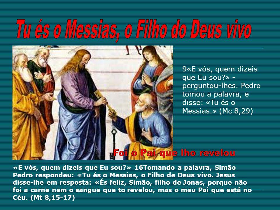 Tu és o Messias, o Filho do Deus vivo