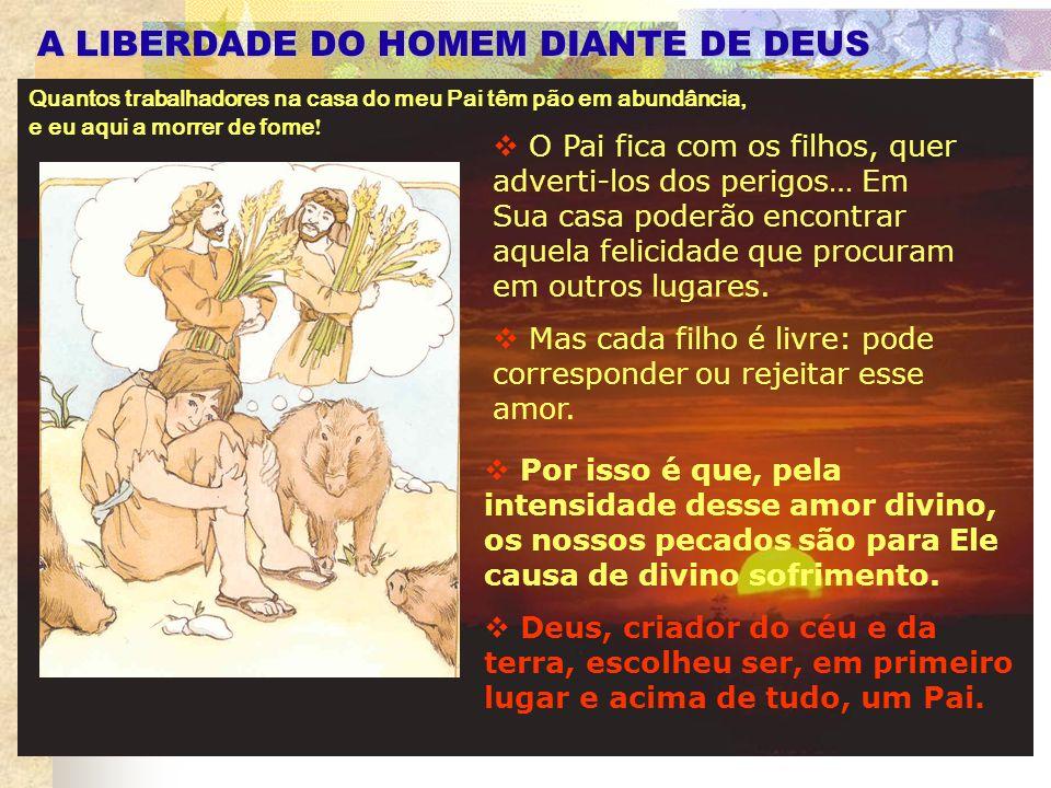 A LIBERDADE DO HOMEM DIANTE DE DEUS