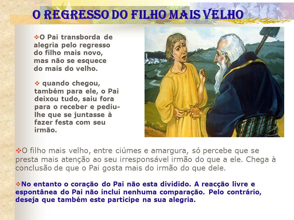O REGRESSO DO FILHO MAIS VELHO