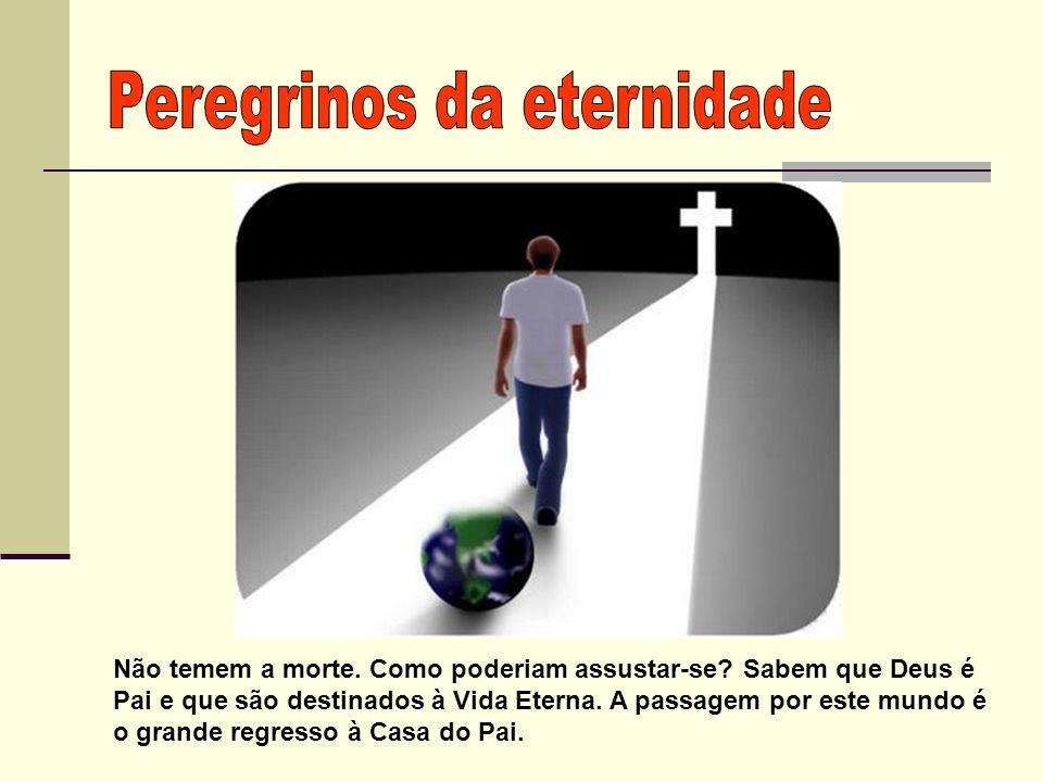 Peregrinos da eternidade