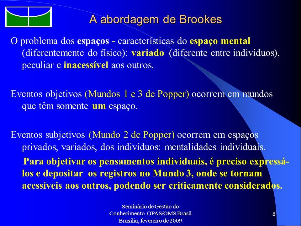 A abordagem de Brookes