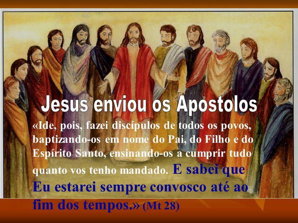 Jesus enviou os Apostolos