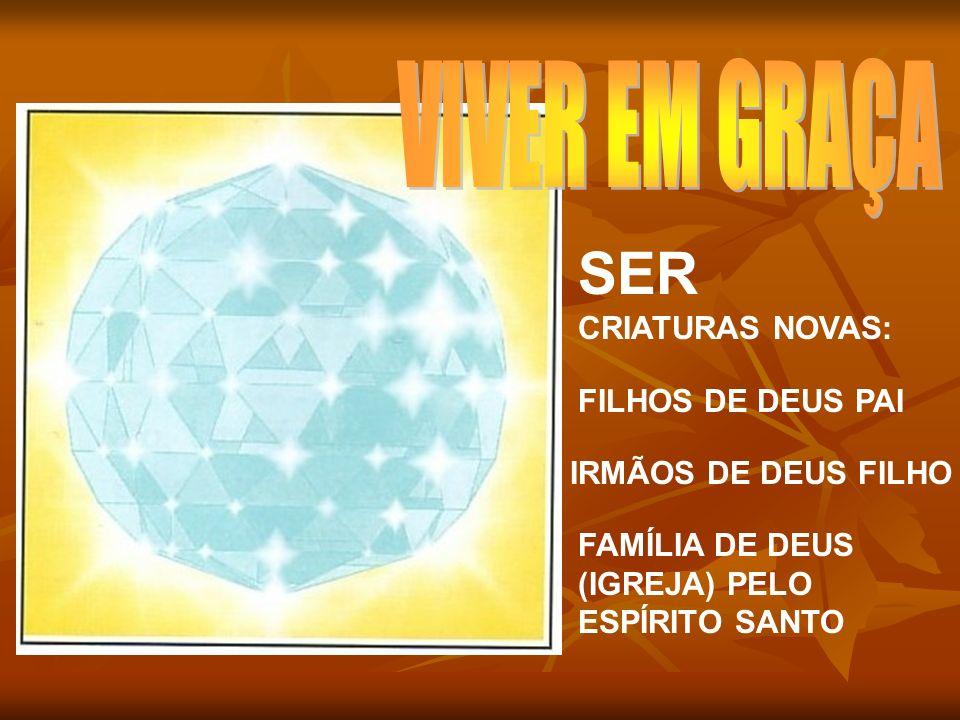 SER CRIATURAS NOVAS: VIVER EM GRAÇA FILHOS DE DEUS PAI