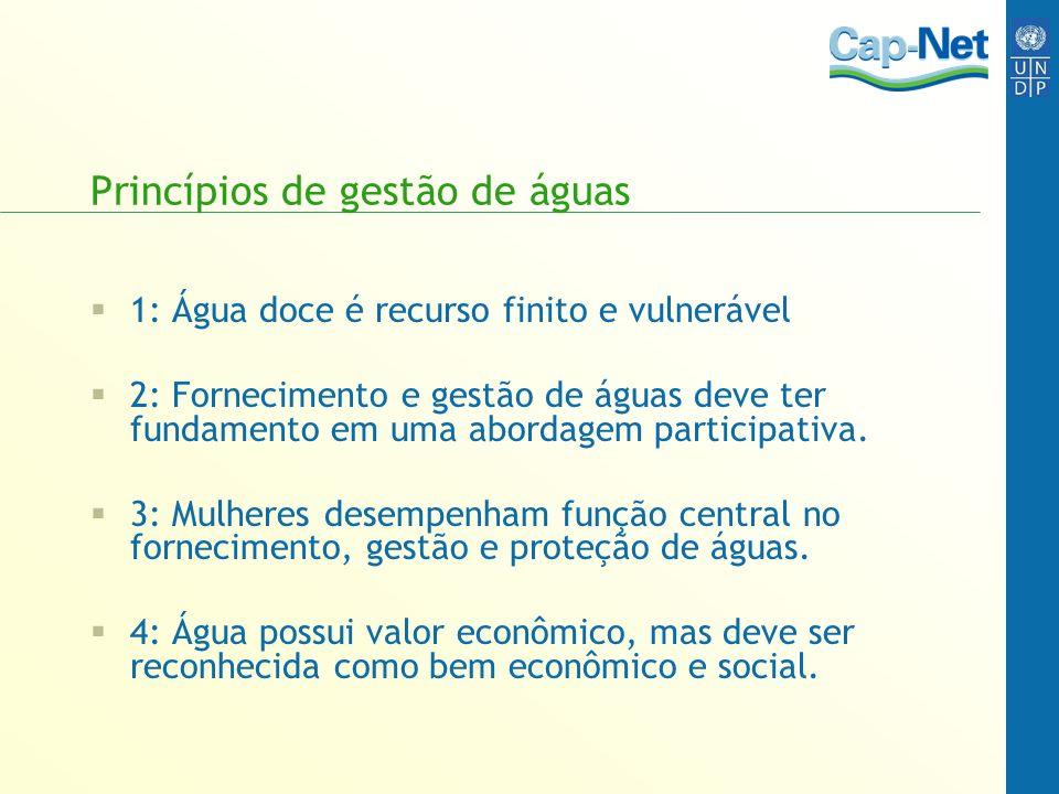 Princípios de gestão de águas