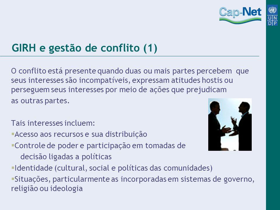 GIRH e gestão de conflito (1)