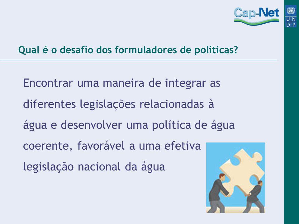 Qual é o desafio dos formuladores de políticas