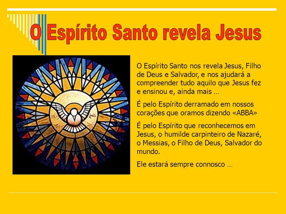 O Espírito Santo revela Jesus