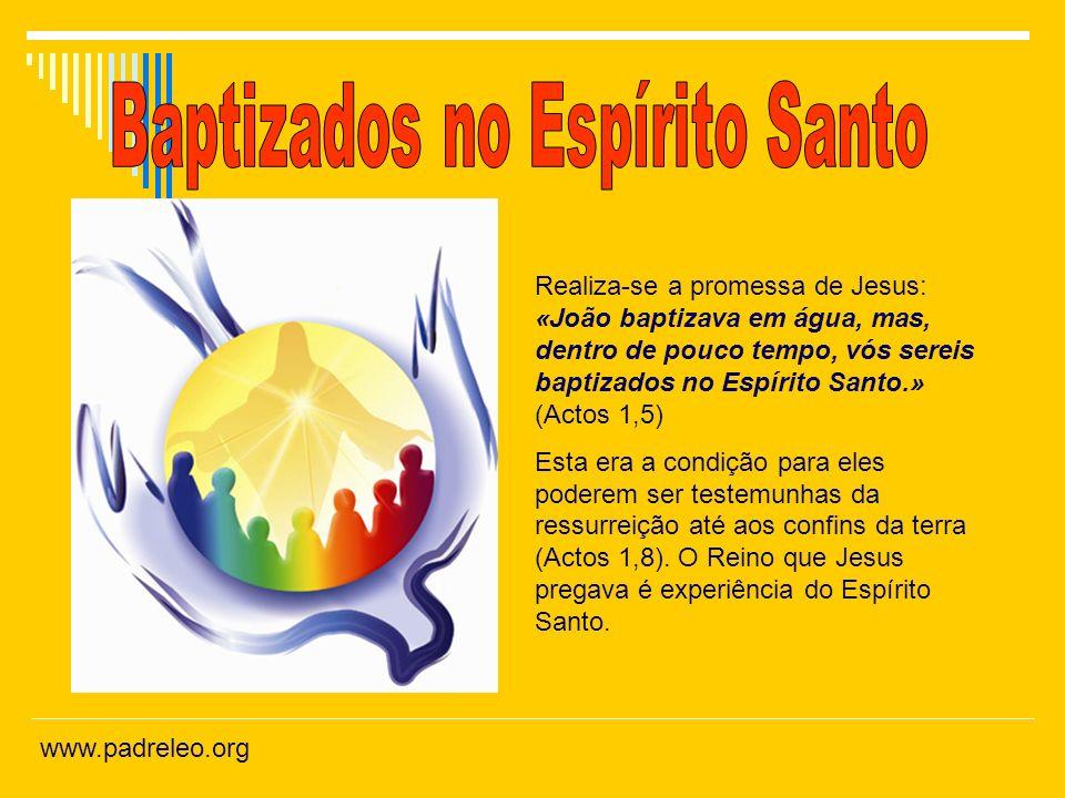 Baptizados no Espírito Santo