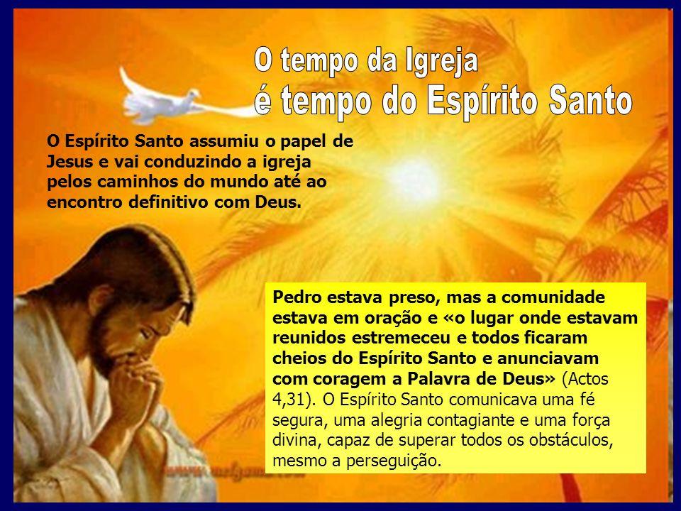 é tempo do Espírito Santo