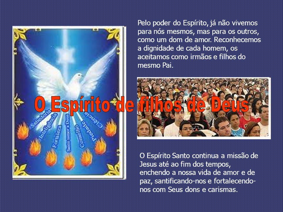 O Espírito de filhos de Deus