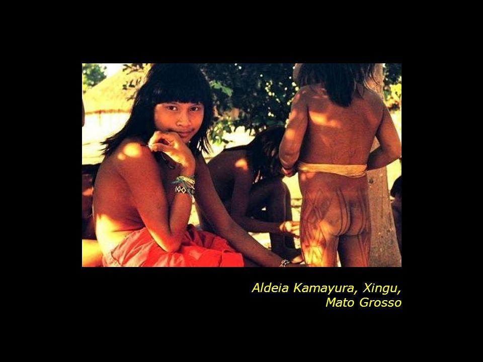 Aldeia Kamayura, Xingu, Mato Grosso