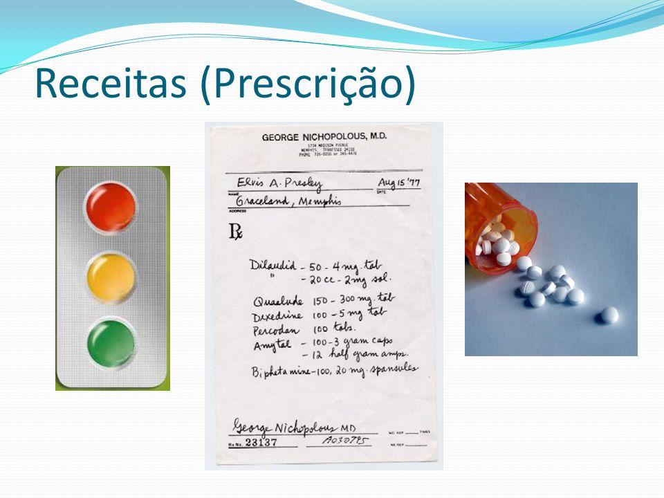 Receitas (Prescrição)