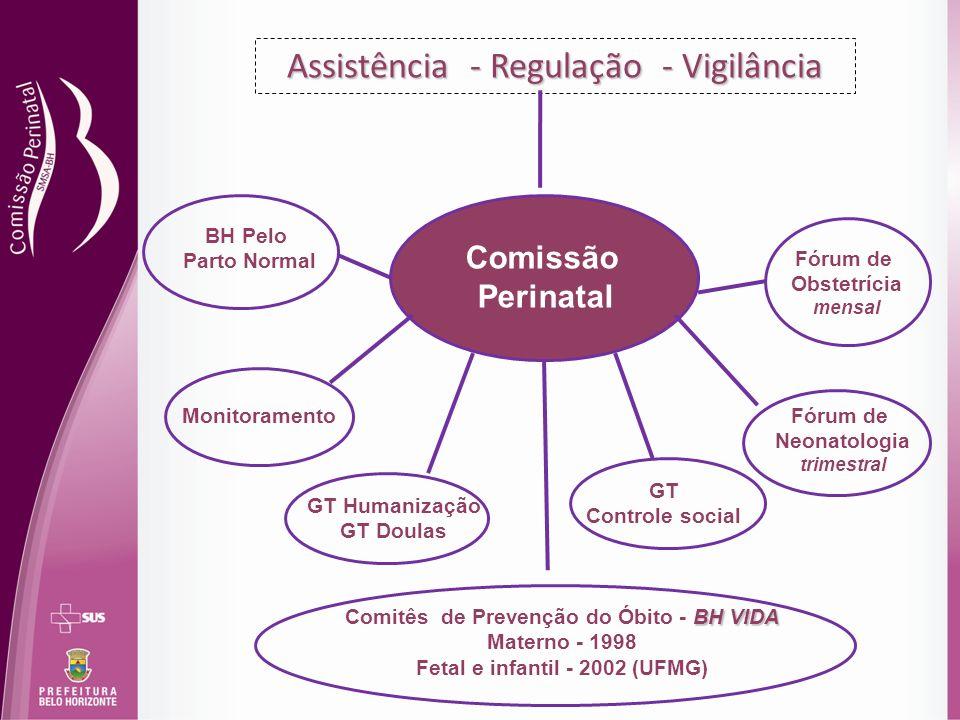 Assistência - Regulação - Vigilância