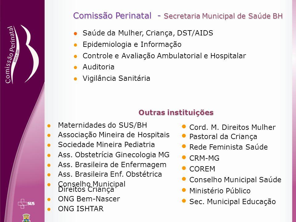 Comissão Perinatal - Secretaria Municipal de Saúde BH