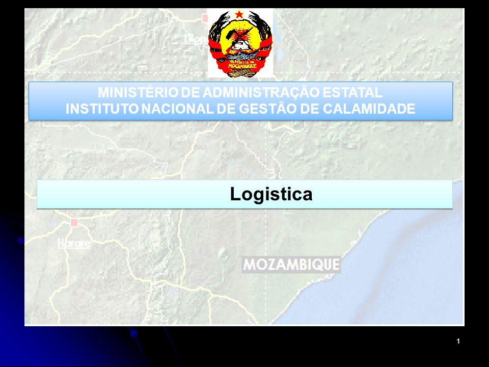 Logistica MINISTÉRIO DE ADMINISTRAÇÃO ESTATAL