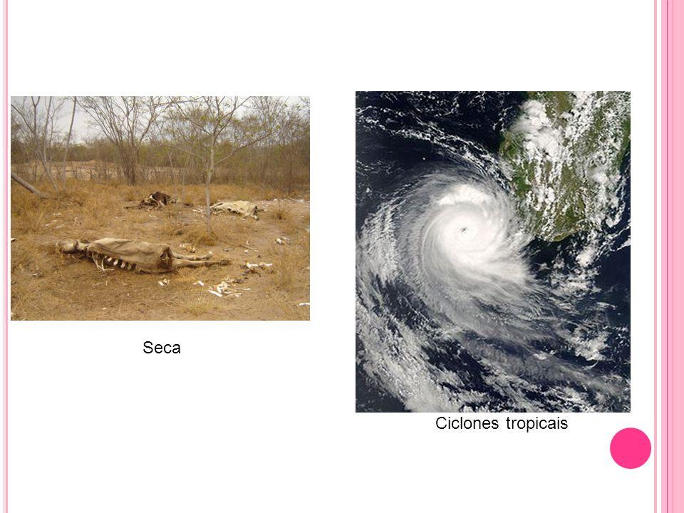 Seca Ciclones tropicais