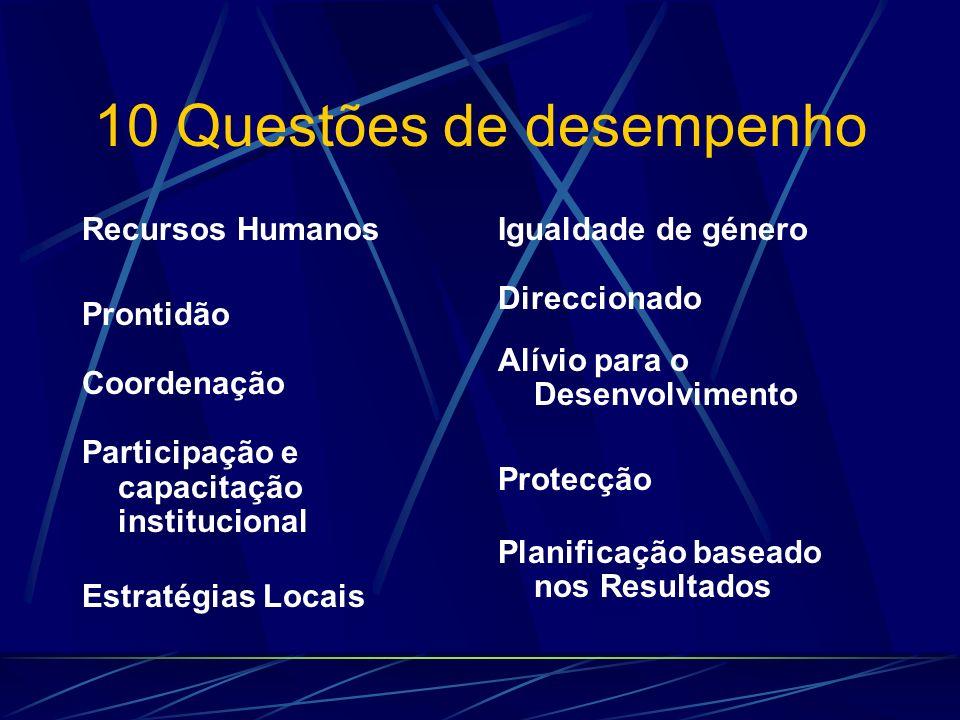 10 Questões de desempenho