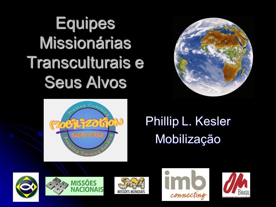 Equipes Missionárias Transculturais e Seus Alvos