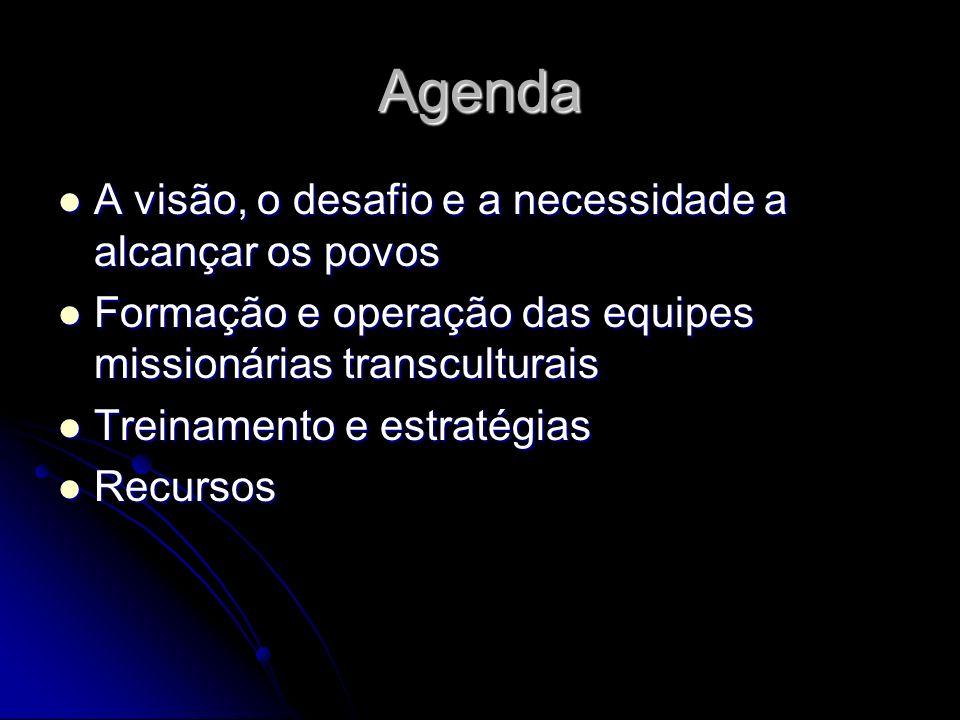 Agenda A visão, o desafio e a necessidade a alcançar os povos