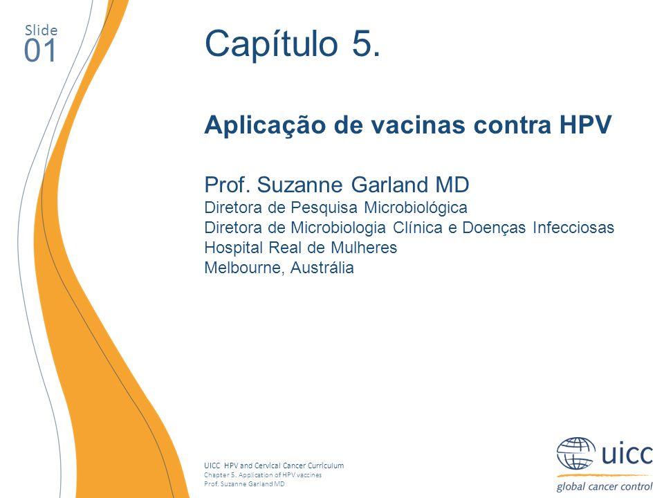 Capítulo 5. 01 Aplicação de vacinas contra HPV