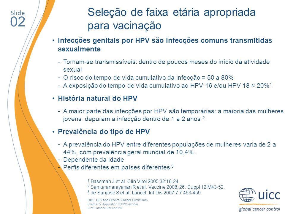 02 Seleção de faixa etária apropriada para vacinação Slide