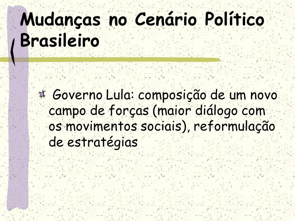 Mudanças no Cenário Político Brasileiro