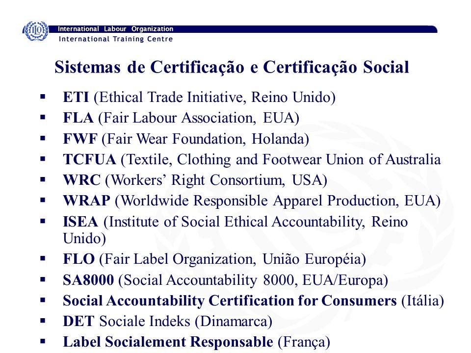 Sistemas de Certificação e Certificação Social