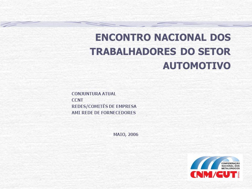 ENCONTRO NACIONAL DOS TRABALHADORES DO SETOR AUTOMOTIVO