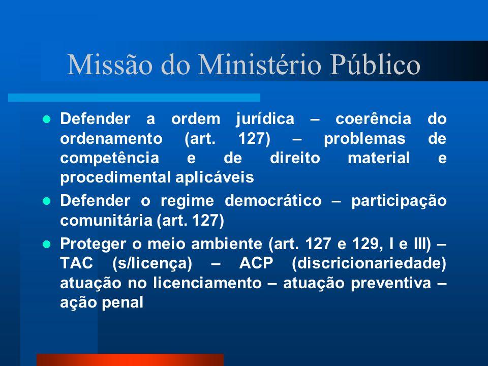 Missão do Ministério Público