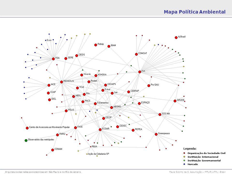 Mapa Política Ambiental