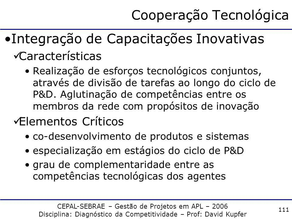Cooperação Tecnológica