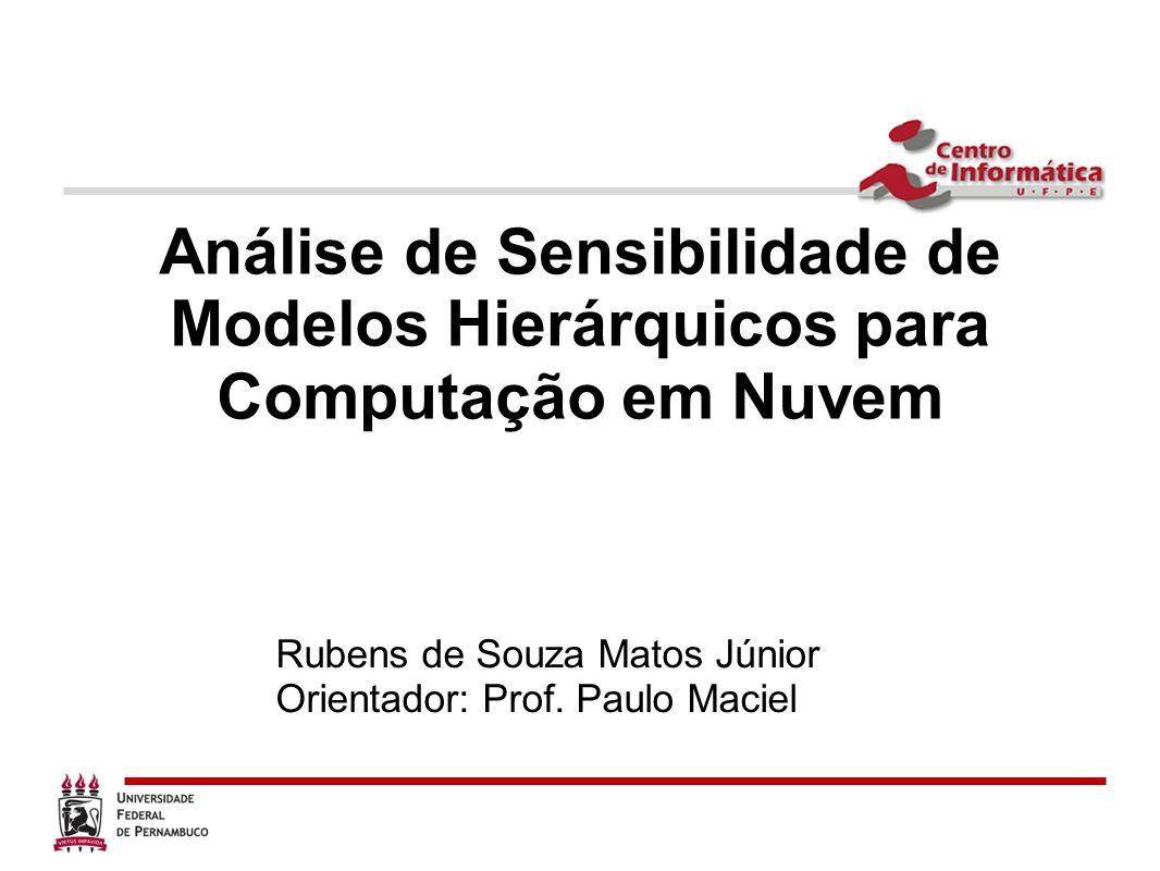 Análise de Sensibilidade de Modelos Hierárquicos para Computação em Nuvem