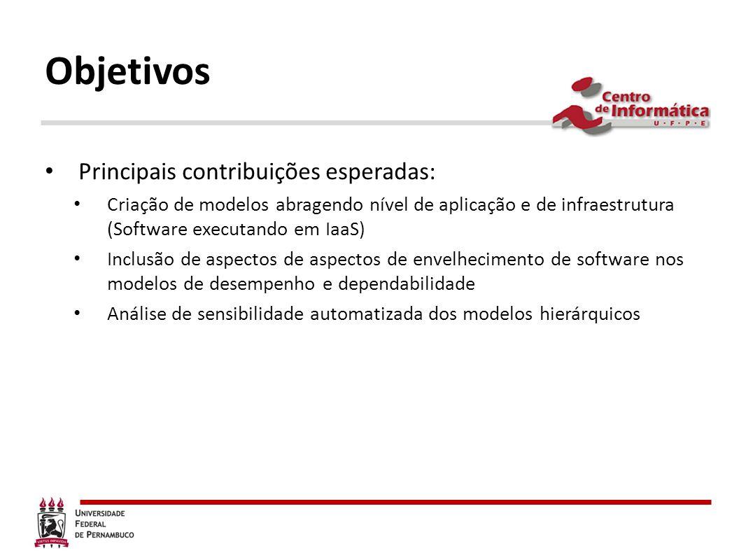 Objetivos Principais contribuições esperadas: