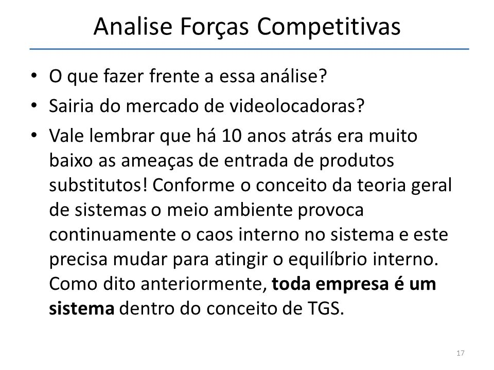Analise Forças Competitivas