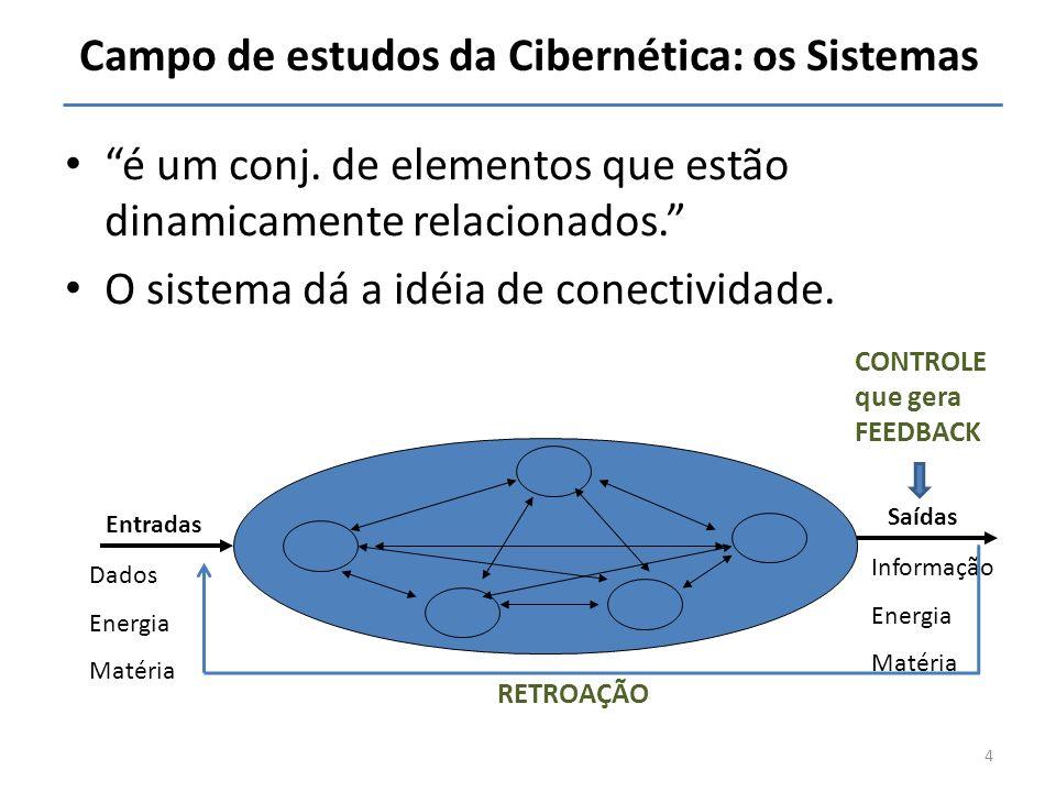Campo de estudos da Cibernética: os Sistemas