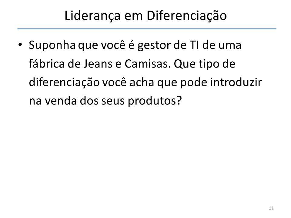Liderança em Diferenciação