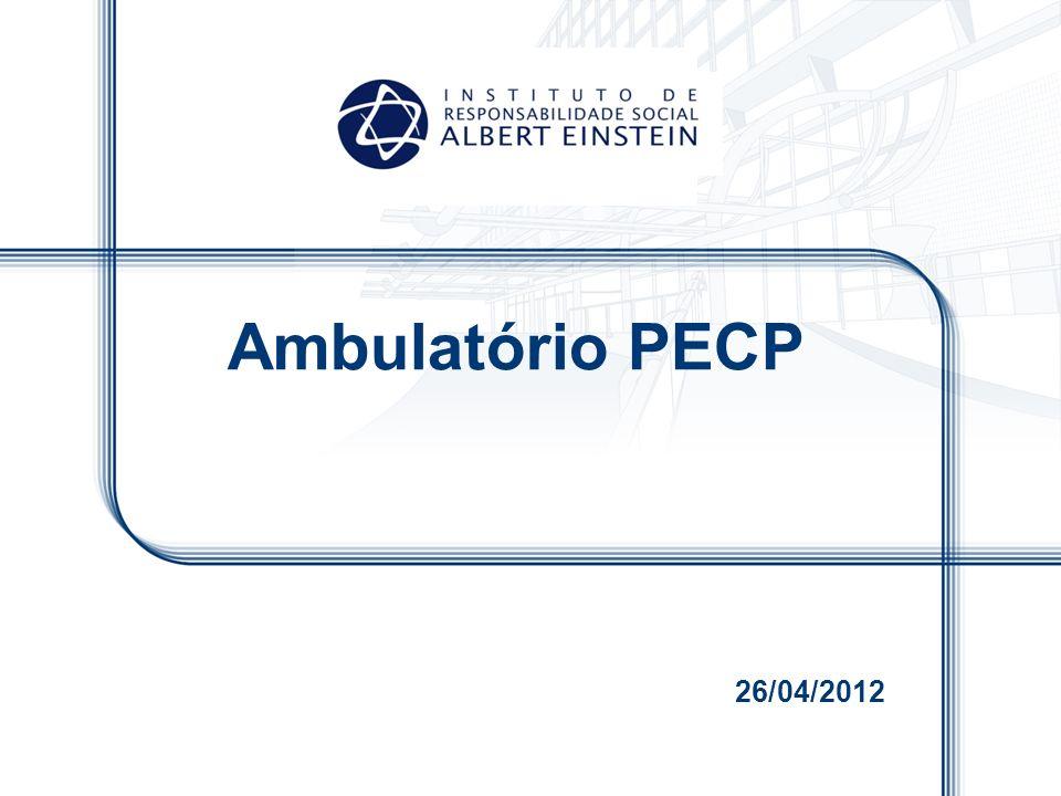Ambulatório PECP 26/04/2012