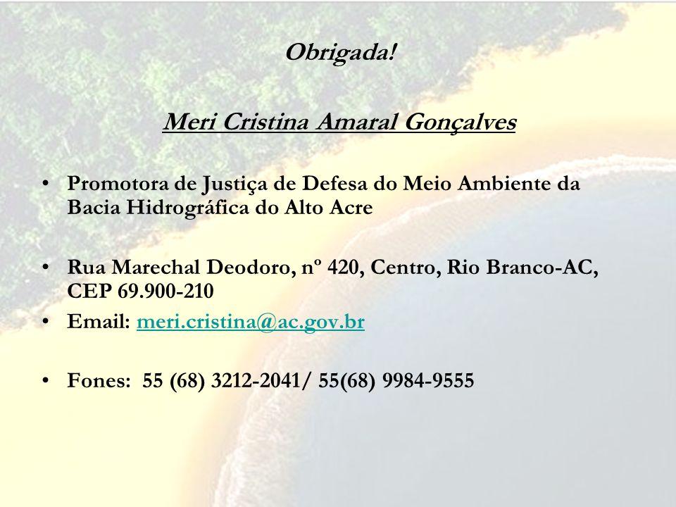 Meri Cristina Amaral Gonçalves