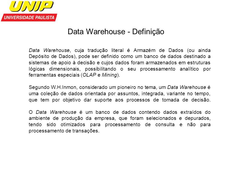 Data Warehouse - Definição