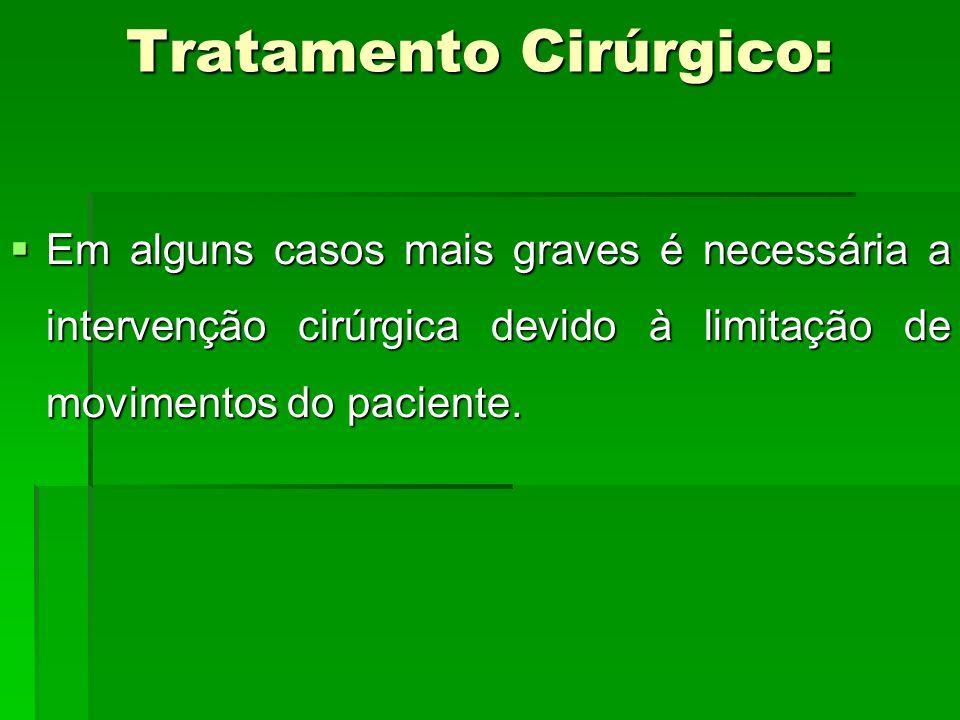 Tratamento Cirúrgico: