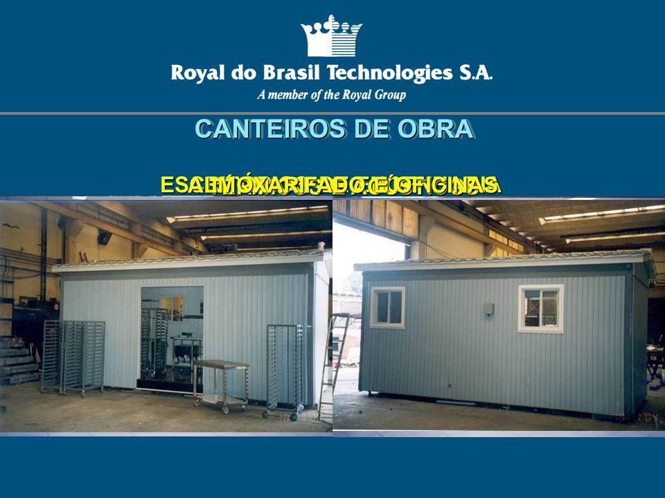 ESCRITÓRIOS DE ENGENHARIA ALMOXARIFADO E OFICINAS