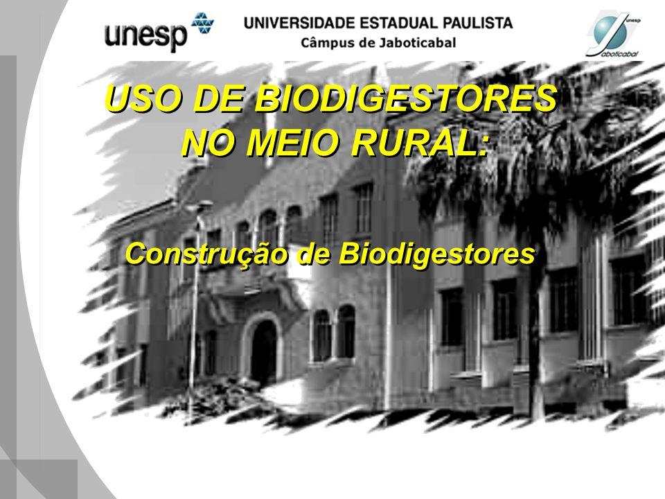 Construção de Biodigestores