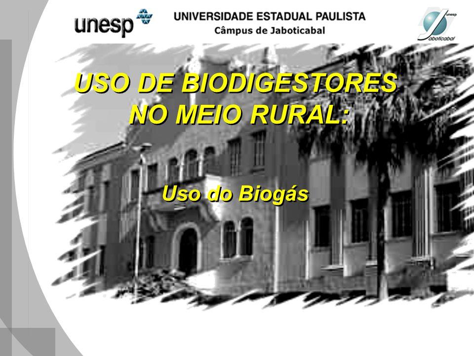 USO DE BIODIGESTORES NO MEIO RURAL: