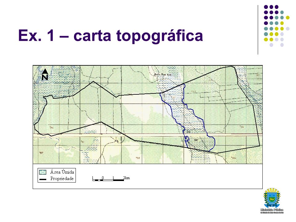 Ex. 1 – carta topográfica