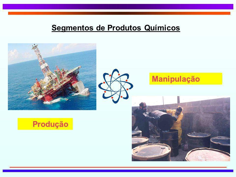 Segmentos de Produtos Químicos
