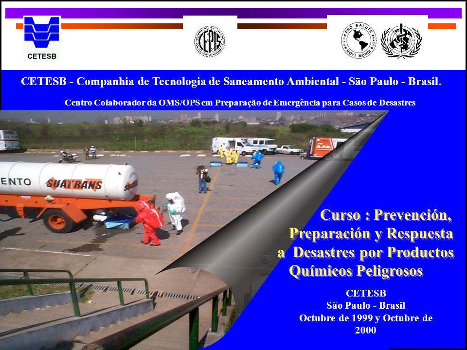 Preparación y Respuesta a Desastres por Productos Químicos Peligrosos