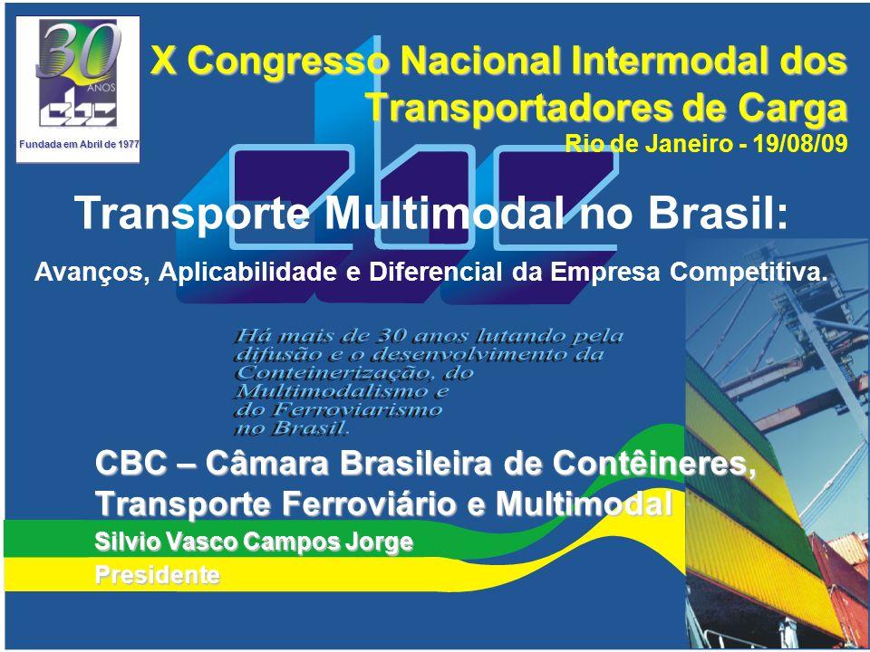 Transporte Multimodal no Brasil: