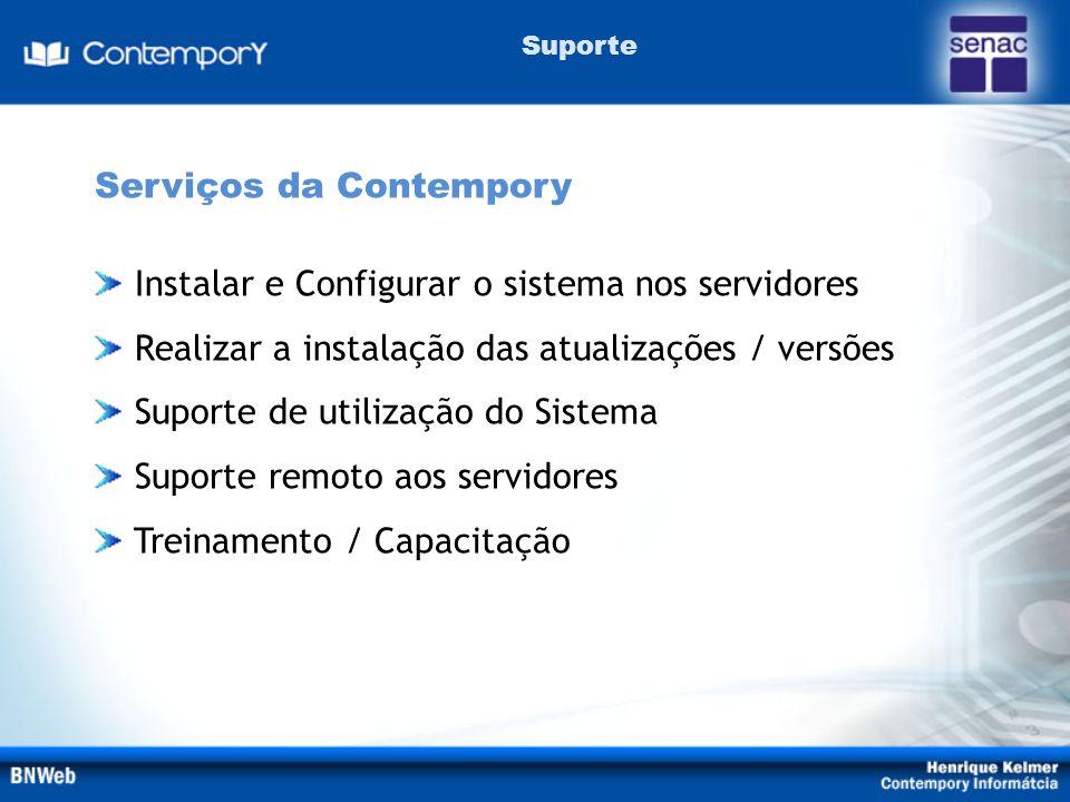 Serviços da Contempory
